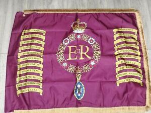 Irish Guards Queens colours flag