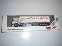"""HERPA H0 - DAF 95 Kühlkoffer Sattelzug """"van der Elzen G.v.Holland"""" -  OVP X239X"""