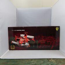 1:18, Michael Shumacher, Ferrari Formul 1 , 2006 Sao Paulo LE 8834/9250