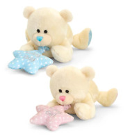 Newborn Baby Girl Boy My First Cuddly Toy Plush Teddy Musical 25 cm 0+ Keel Toys