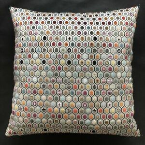 "Osborne & Little Fabric Cushion Cover PELANGI VELVET - 50cm x 50cm (20"")"