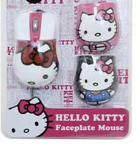 Hello Kitty Mouse Faceplate Mouse 3 Changing Face Plates Pc And Mac Compatible