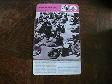 FICHE CARD la Rafle du Vel d'Hiv Paris Juifs Jews Jewish Juillet 1942 France 80