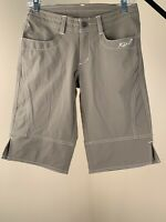 "Kuhl Women's Stretch Hiking Lightweight Shorts Size 2 Inseam 12"", Breen NWOT!"