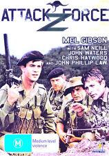 Attack Force Z NEW DVD Mel Gibson Sam Neill John Waters Chris Haywood war WWII
