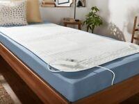 Wärmeunterbett m. 9 Temperaturstufen Heizdecke Heiz Wärme Decke Unterbett 150x80