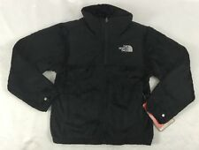 The North Face Girl's Denali Fleece Thermal Jacket Full Zip TNF Black Size L