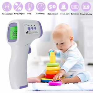 Infrared Forehead  Digital Thermometer Non-ContactBaby Adult Body Termometer Kid