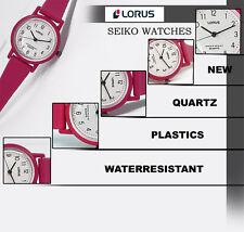 Lorus Reloj de niños en Bonito Rosa