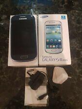 Phone Samsung Galaxy S3 Mini Complete Original Box Excellent Unlocked