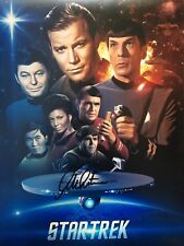 *NEW* Signed William Shatner Captain Kirk Star Trek  Photo COA & Proof Cast B
