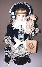 Boyds Limited Edition Yesterday's Child Doll Priscilla with William Retired