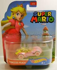 SUPER MARIO BROTHERS PRINCESS PEACH CHARACTER CAR HOT WHEELS DIECAST 2016