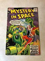 MYSTERY IN SPACE #53  1ST ADAM STRANGE SERIES Robots 1959 KEY ISSUE sci fi