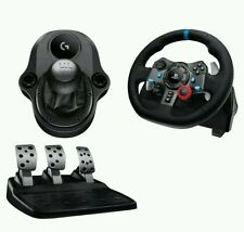 LOGITECH Driving Force G29 Steering Wheel Pedals & Gearstick /Shifter PS3 PS4 PC