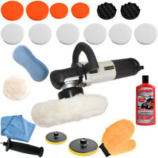DUAL ACTION ECCENTRIC EXCENTRIC ROTATION CAR POLISHER ELECTRIC + Set 3, 710 W