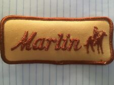 Vintage Marlin patch, Marlin Firearms, Marlin patch