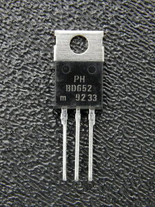8A 60V Transistor New Lot Quantity-50 PHILIPS BD646AS TO-220 PNP DARL