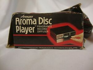 Aromance Aroma DIsc Player Fragrance Record Diffuser Electronic Device 120 Volts