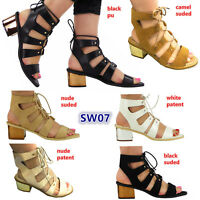 CLEARANCE: Girls ankle straps block heel summer sandals fashion shoes