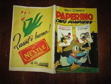 WALT DISNEY ALBO D'ORO 1°RISTAMPA N°98 AGO 1953 PAPERINO CAPO POMPIERE