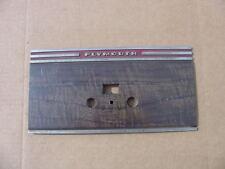 1939 Plymouth P7 P8 NOS MoPar #833370 Radio Dash BEZEL Faceplate MOLDING Chryco
