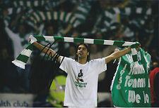 Georgios SAMARAS SIGNED Autograph Photo AFTAL COA CELTIC SPL League Winner