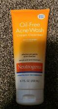Neutrogena Oil-Free Acne Wash Cream Cleanser-6.7 oz exp 8/20