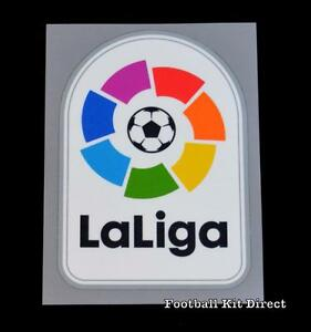 Official La Liga LFP Football Patch/Badge Player Size 2016/17/18/19