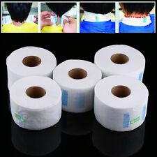 5/Set Pro Disposable Neck Paper Strips Rolls for Salon Barber Hairdressing Tool
