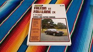 31F gregorys Ford falcon XE ZK crossflow 6 owners service manual similar xd xf