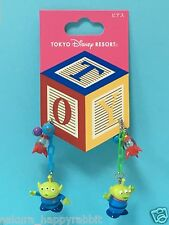 Tokyo Disney Resort Alien Pierced Earrings Toy Story Sea Land Japan Limited
