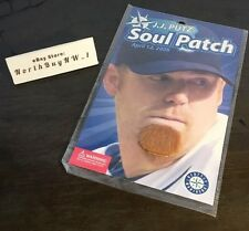 *RARE* NEW JJ Putz SOUL PATCH SGA SEATTLE MARINERS  Faux Facial Hair  *VINTAGE*