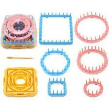 9Pcs/Set Knitting Loom Flower Daisy Pattern Maker Wool Yarn Needle Knit Kit Tool