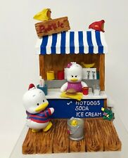 "Sanrio Ahiru no Pekkle Vintage ""Hold The Pekkle"" Collectible Bookend ~ 1997"