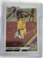 2019-2020 Lebron James Panini Donruss Optic Base #60 1st Year Lakers Card