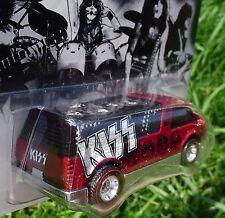 40 Years of Rock-n-Roll ~ KISS Dream Van XGW ~ HW Real Riders NEW SEALED Box!