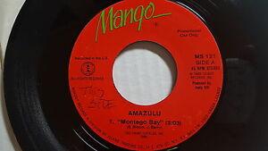 """Amazulu - Montego Bay / Seulement Amour Reggae Pop Electro Mangue 1986 (7 """")"""