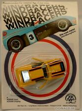 Zee Windracers '77 Ford Mustang Cobra II P351 Yellow MOC 1/64 Scale