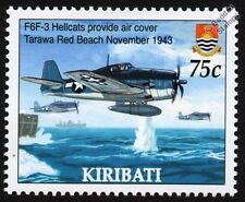 Grumman F6F-3 HELLCAT (WWII Battle of Tarawa) Aircraft Stamp