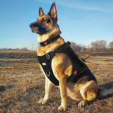 New listing Tactical Dog Harness for Large Medium Small Dogs, No Pull Dog Harness, Working D