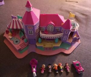 Polly Pocket Bluebird 1994, Magical Madison, Villa, Schloss mit Licht