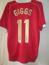 Manchester United 2006-2007 Giggs 11 Home Football Shirt Size large man u /34642