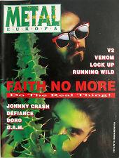 METAL SHOCK 73 1990 Faith No More DAM Doro Venom V2 Oblivion Running Wild Czakan