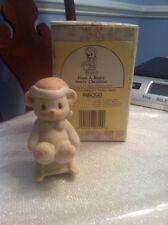 Precious Moments #522856 1989 Have A Beary Merry Christmas, Bear On Chair 1St Ed