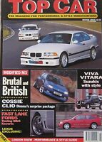 Top Car Magazine 03/1994 featuring Dimma Renault Clio