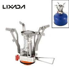 Ultra-light Pocket Outdoor Cooking Burner Folding Camping Hiking 3000W Gas Stove