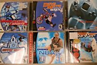 Dreamcast Lot of (6) Variety of Games *NO SCRATCHES*  FREE SHIPPING !!!