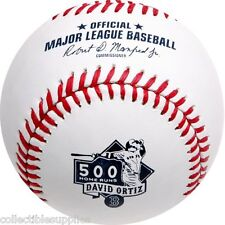 DAVID ORTIZ 500 HOME RUNS COMMEMORATIVE BOSTON RED SOX MLB BASEBALL IN BOX