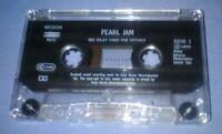 PEARL JAM NOT FOR YOU cassette tape single N35